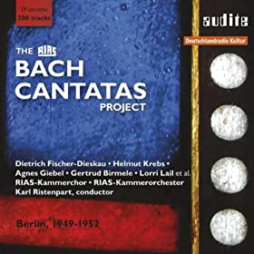 The Rias Bach Cantatas Project (Rias Studio Recordings From Berlin, 1949-1952)