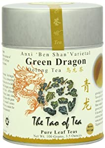 The Tao of Tea, Green Dragon Oolong Tea, Loose Leaf, 3.5 Ounce Tin from 3M