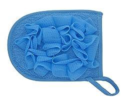 Divo Large Hand Sponge Loofah, Blue
