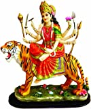 Amazon.com: Enchanting Durga Sitting on Tiger Statue: Explore similar