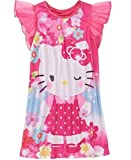 Hello Kitty Girls Nightgown - Pink Flowers