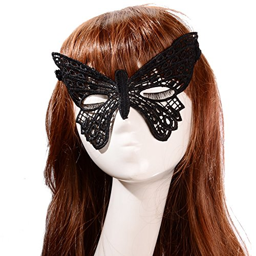 Hip Mall Sexy Butterfly Style Mysterious Lace Eye Mask Masquerade