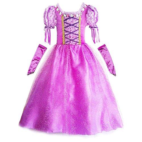 upc 611801153941 genial es fille costume deguisement de princesse robe longue violet pour. Black Bedroom Furniture Sets. Home Design Ideas