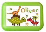 Brotdose-Lunchbox mit eigenem Namen und Wunschmotiv Brotdose mit Trennsteg