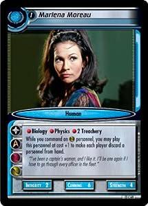 Star Trek Ccg 2e Iamd Darkly Marlena Moreau 13c69