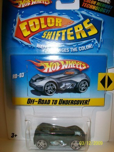 Hot Wheels Color Shifters RD-03 Green - Dark Gray - 1