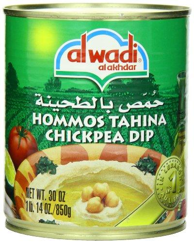 Al Wadi Hommos Tahina Chick Pea Dip, 30-Ounce (Pack of 6)
