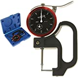 """iGaging Tube Thickness Gauge Ball Anvil Dial Indicator 0-1""""/0.0005"""""""