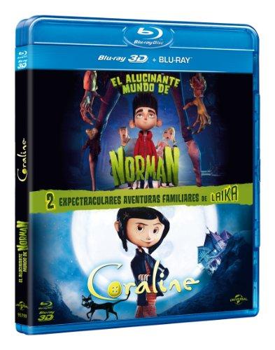 Pack: El Alucinante Mundo De Norman (BD 2D +