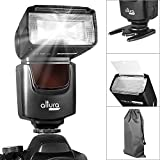 Altura Photo AP-UNV1 Speedlite Flash for DSLR Cameras with a Standard Hot Shoe Mount