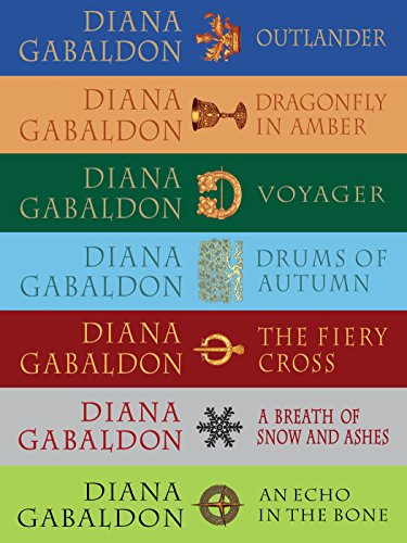 Diana Gabaldon - The Outlander Series 7-Book Bundle: Outlander, Dragonfly in Amber, Voyager, Drums of Autumn, The Fiery Cross, A Breath of Snow and Ashes, An Echo in the Bone