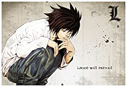 Death Note - Justice will Prevail Wall Poster