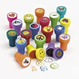 Rhode Island Novelty Assorted Plastic Stamps, 50 Count