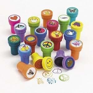 Rhode Island Novelty Assorted Plastic Stamps, 50 Count