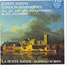 Hadyn: London Symphonies No. 103 + 104
