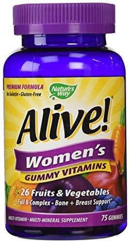Nature's Way Alive Women's Gummy Vitamins, 75 Count