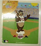 Minnesota Twins Mascotopia Wooden Puzzle with TC Bear at Amazon.com