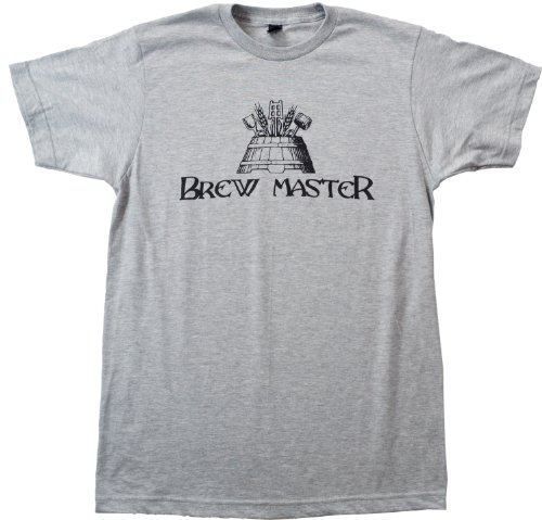Brew Master | Craft Brew, Home Brewer Beer Lover Unisex T-shirt-Adult,XL