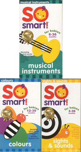 So Smart - Colours / Musical Instruments / Sights and Sounds