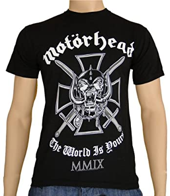 Motörhead T-Shirt Iron Cross S-XL