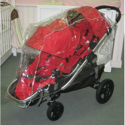 Sasha's Double Rain and Wind Cover for Baby Jogger City Select - 1
