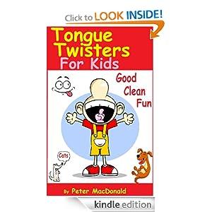 Tongue Twisters For Kids ; Best Joke Book for Kids Volume 3
