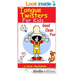 Tongue Twisters For Kids ; Best Joke Book for Kids Volume 3