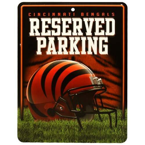 NFL Cincinnati Bengals Parking Sign