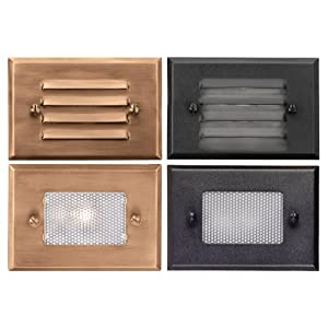 Click to buy Malibu Outdoor Lighting: Malibu Deck Light with 4 Face Plates from Amazon!
