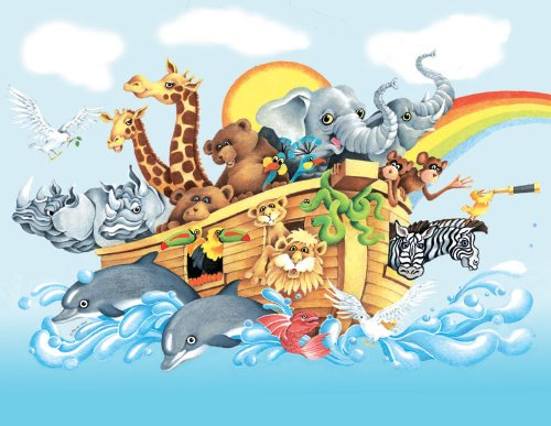 Noah & the Ark a 63-Piece Jigsaw Puzzle by Sunsout Inc.