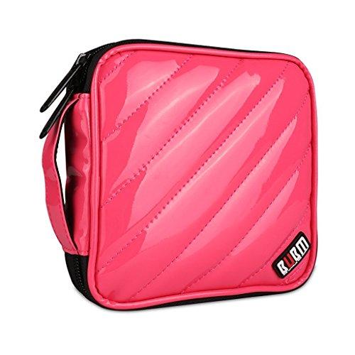 bubm-cd-dvd-portable-wallet-storage-bag-32-disc-case-holder-album-box-smooth-leather-cover-32-disc-c