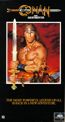 Conan the Destroyer [VHS]
