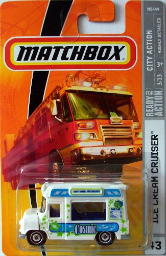 Matchbox 2009 #43 Ice Cream Cruiser Truck 1:64 Scale