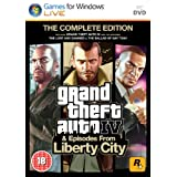 Grand Theft Auto IV: Complete Edition (PC DVD)by Take 2 Interactive