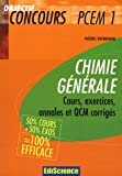 Chimie gnrale PCEM 1 : 50% cours + 50% exercices