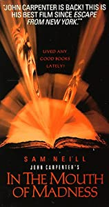 In the Mouth of Madness [VHS]