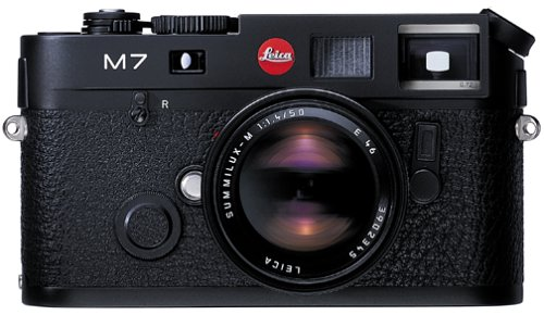 Find Discount Leica M7 Rangefinder 35mm Camera w/ .58x Viewfinder, Black (Model 10503)