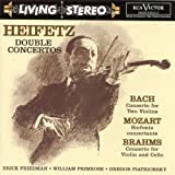 Heifetz: Double Concertos cover image