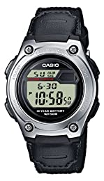 Casio Men's Casual Sports Watch W211B-1AV With Extended Battery Life