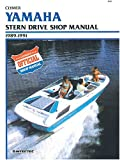 img - for Yamaha Stern Drive Shop Manual, 1989-1991 (Clymer Marine Repair) book / textbook / text book