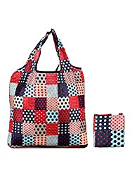 BF Star Ultra Light Foldable Colorful Designer Pattern Hand Bag/ Shopping Bag/ Grocery Bag