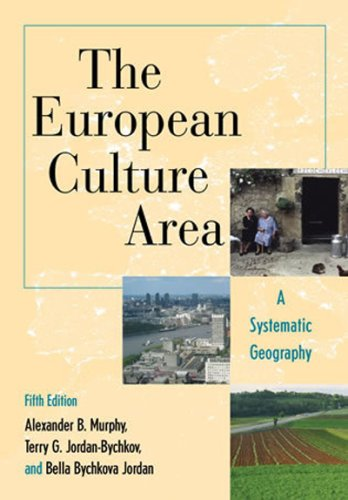 The European Culture Area: A Systematic Geography...