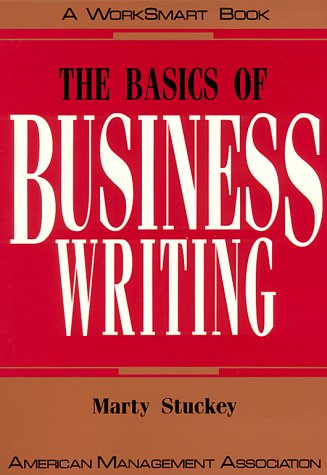 Image for The Basics of Business Writing (Worksmart Series)
