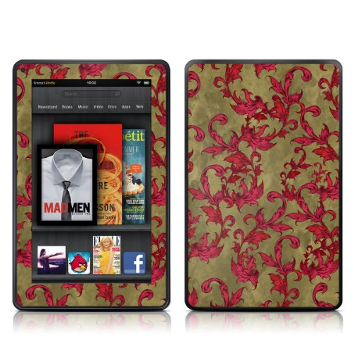 Decalgirl Kindle Fire Skin - Vintage Scarlet