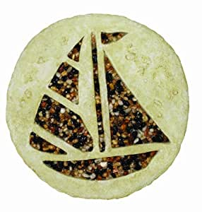 Spoontiques sailboat stepping stone outdoor for Decorative garden stones