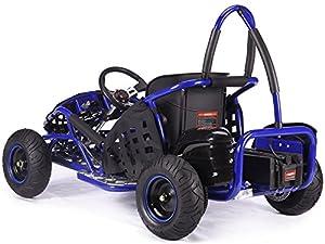 Rocker MAD MAX off-road buggy Go-kart electric 48v 1kw quad pit bike blue BMX from KAYO