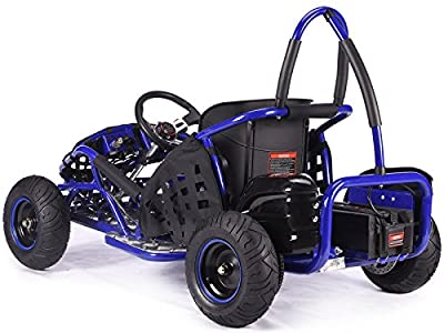 Rocker MAD MAX off-road buggy Go-kart electric 48v 1kw quad pit bike blue BMX from KAYO