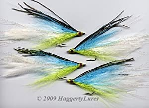 Lefty's Deceiver Flies - Haggerty Lures - Set of 2 - Saltwater 1/0 to 5/0 - Streamer by Haggerty Lures