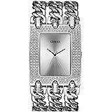 Guess - W0315L1 - Montre Femme - Quartz Analogique - Cadran Argent - Bracelet Acier Argent