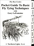 img - for Pocket Guide to Basic Fly Tying Techniques (Pocket Guides (Greycliff)) book / textbook / text book